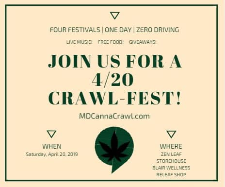 Baltimore 420 Canna Crawl (MD) April 20 2019