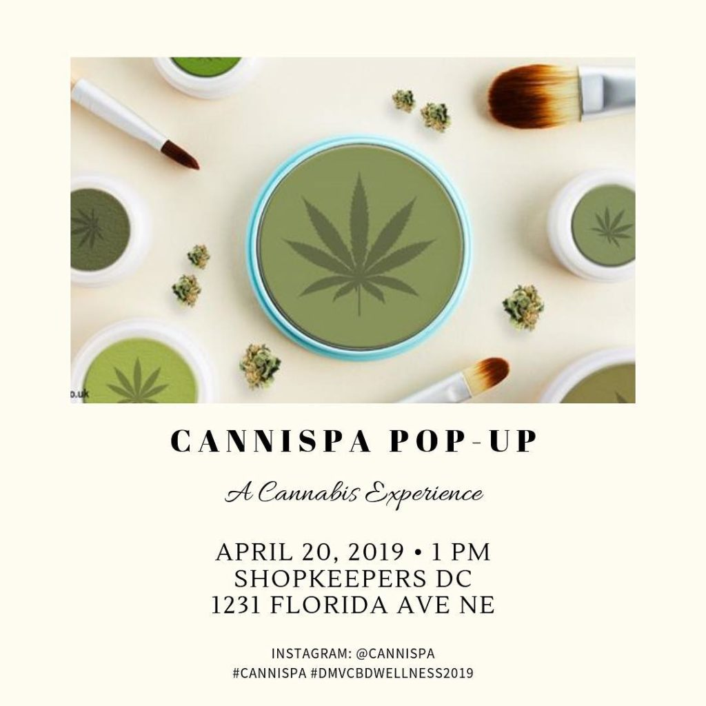 Cannispa Pop-Up (DC) April 20 2019