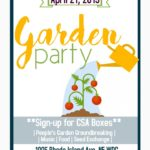 Dope DC Creates Garden Party Ground Breaking Celebration (DC) April 21 2019