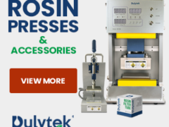 Dulytek® DW6000 Electric Fully Automatic 3-Ton Rosin Press