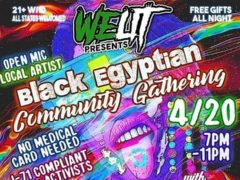 WeLit Presents Black Egyptian 420 Community Gathering (DC) April 20 2019