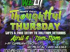 WeLit Presents Thoughtful Thursday (DC) April 4 2019