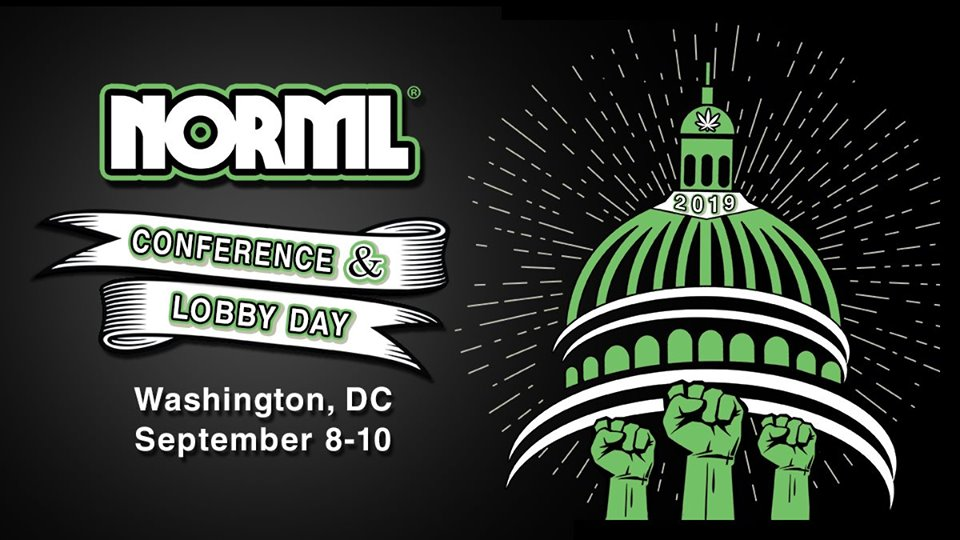 2019 NORML Conference & Lobby Day (DC) September 8-10 2019