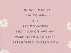 Art & Edible World Sunday (DC) May 19 2019