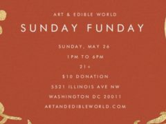 Art & Edible World Sunday Funday (DC) May 26 2019
