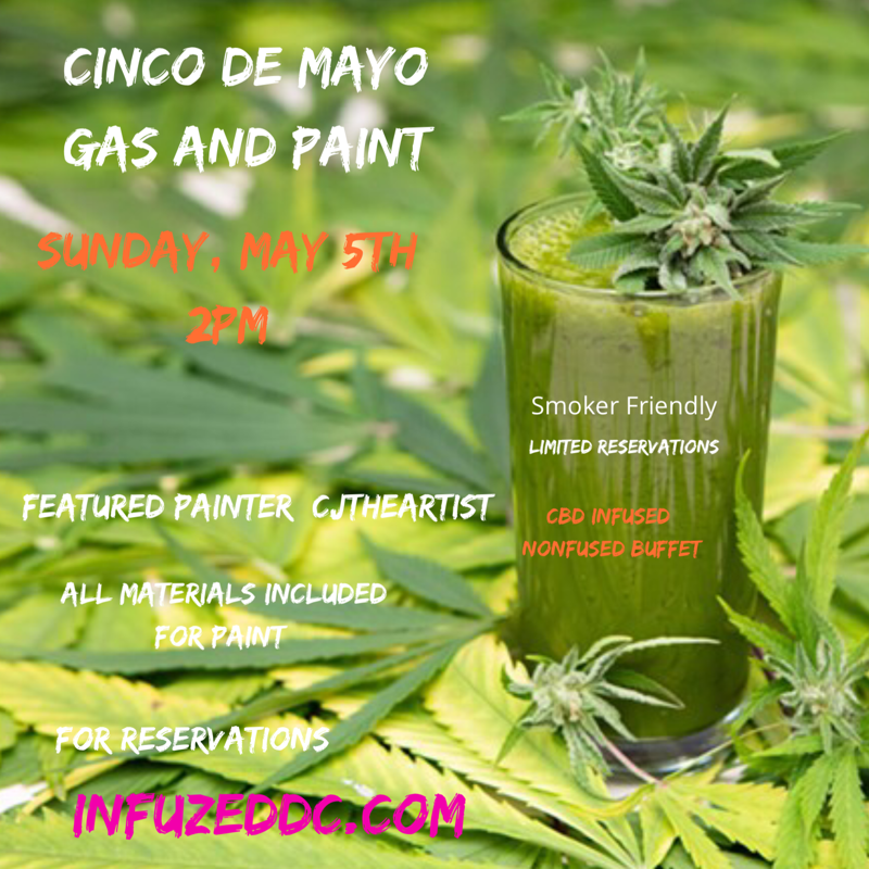 GAS AND PAINT CINCO DE MAYO EDITION (DC) May 5 2019