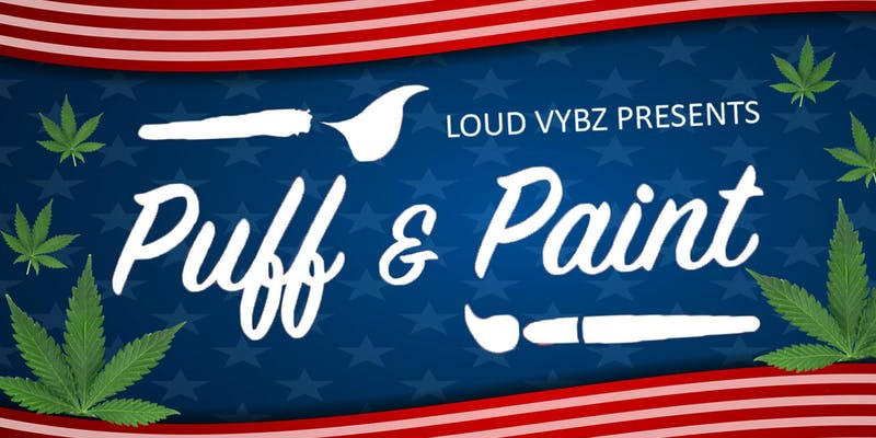 Memorial Day Puff and Paint by Loud Vybz (MD) May 27 2019