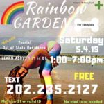 Rainbow Garden DC (DC) May 4 2019