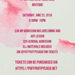 Suga Heel Boutique Sip N Paint (DC) June 22 2019