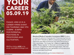 Women Grow Maryland Cannabis Career Fair (MD) May 9 2019