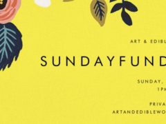 ART & EDIBLE WORLD SUNDAY FUNDAY (DC) June 30 2019