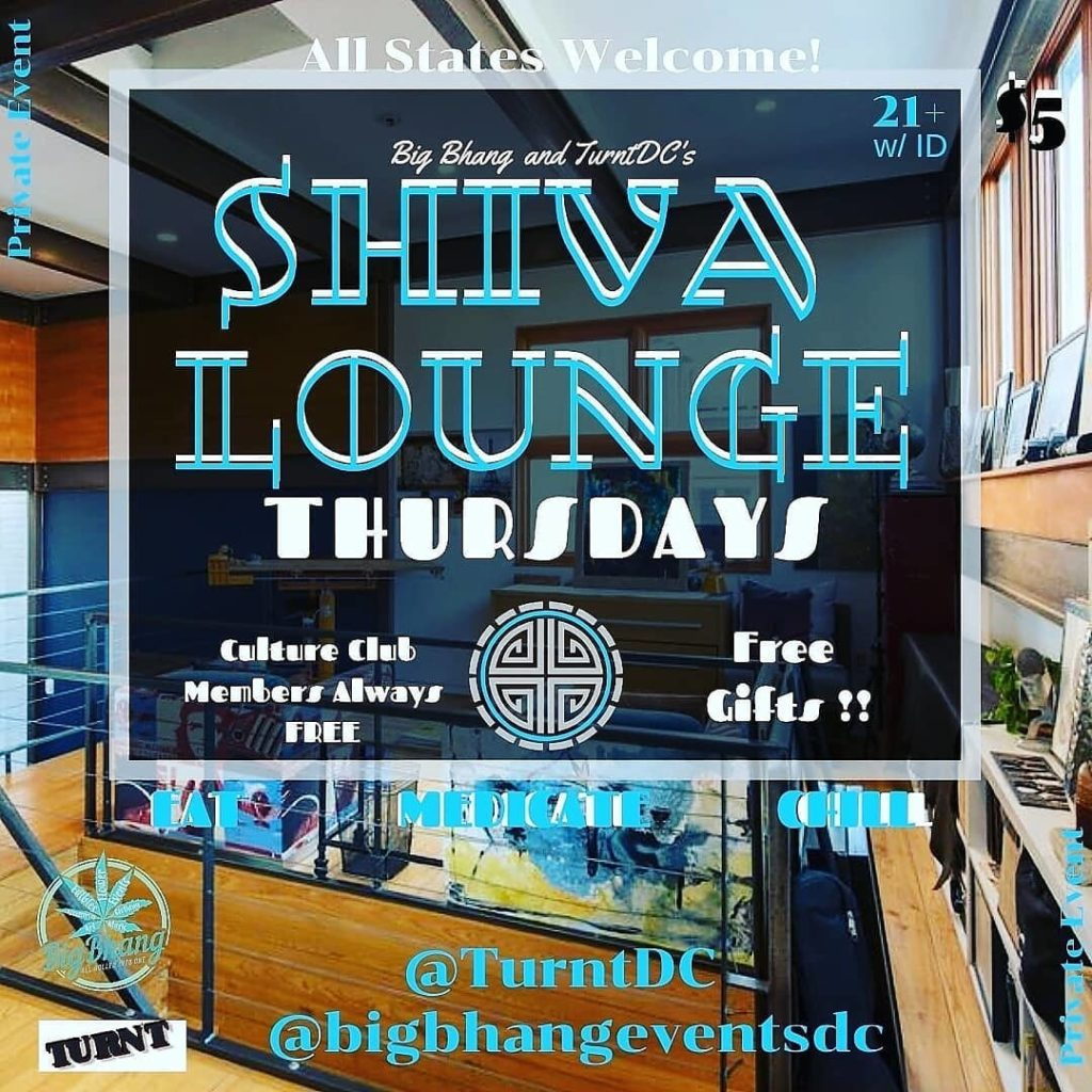 Big Bhang and TurntDC at Shiva Lounge Thursdays (DC) June 20 2019