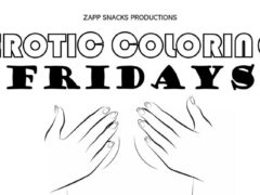 Erotic Colouring by Zapp Snacks (DC) July Dates