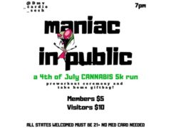 Maniac In Public 5k Run (21+) by @dmv_cardio_sesh (DC) July 4 2019