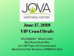 Monday's PGC Crawl is JOVA Wellness GROUP (MD) June 17 2019