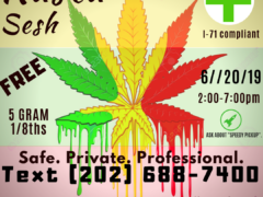Rasta Sesh hosted by Washington Gasss Company (DC) June 20 2019