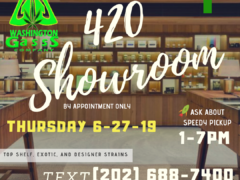 420 Showroom Hosted by Washington Gasss Company (DC) January 27 2019