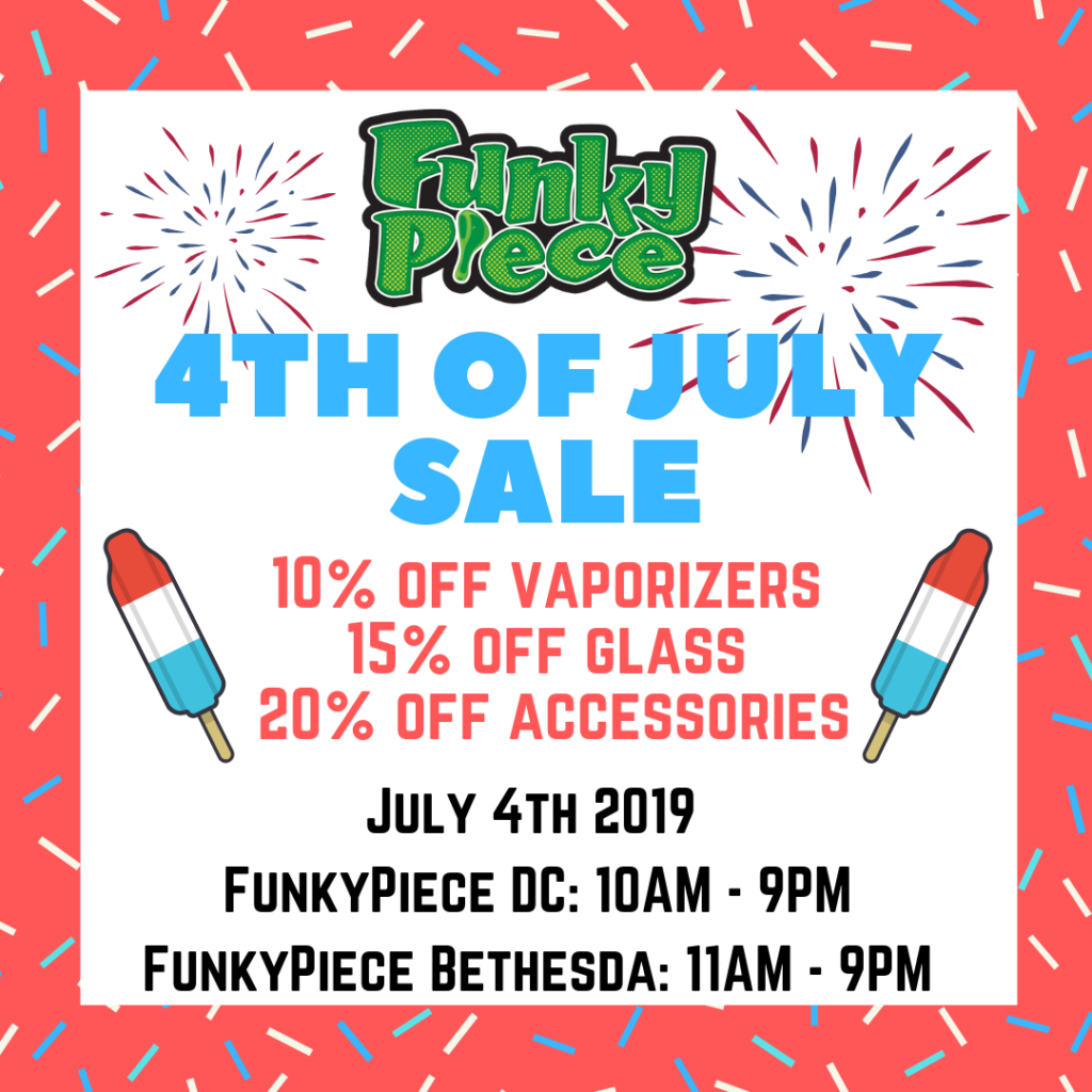 4th Of July Sale at FunkyPiece (DC MD) July 4 2019