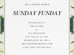 Art & Edible World Saturday (DC) July 7 2019
