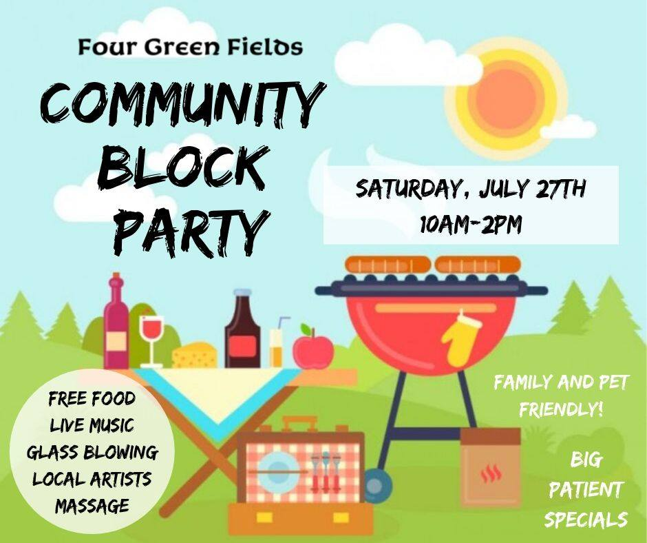 Community Block Party Hosted by Four Green Fields LLC (MD) July 27 2019