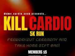 Kill Cardio 5k Run Hosted by @DMV_Cardio_Sesh (DC) July 25 2019