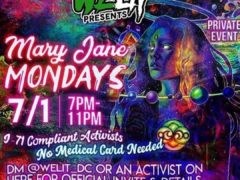WeLit Presents Mary Jane Mondays (DC) July 1 2019