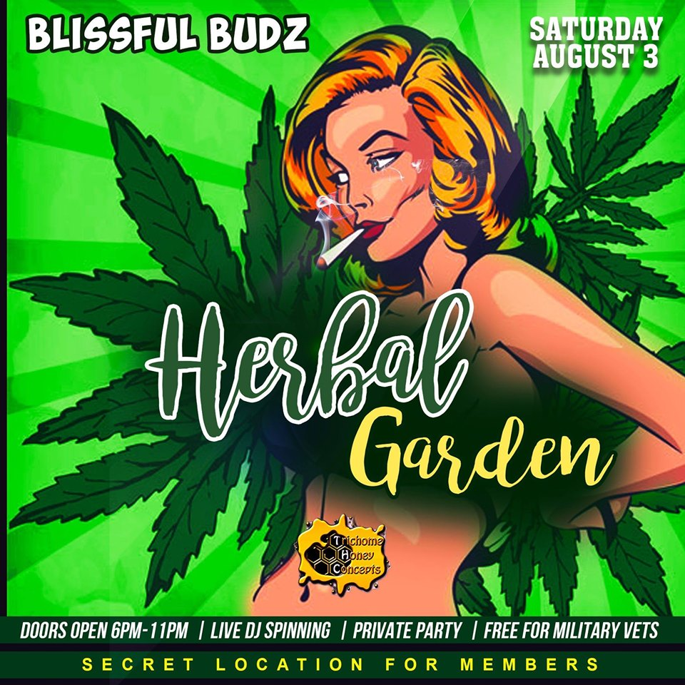 Blissful Budz Herbal Garden Hosted by Trichome Honey Concepts (DC) August 3 2019