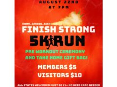 FINISH STRONG 5K RUN AUGUST 22ND at 7pm by @dmv_cardio_sesh (DC) August 22 2019