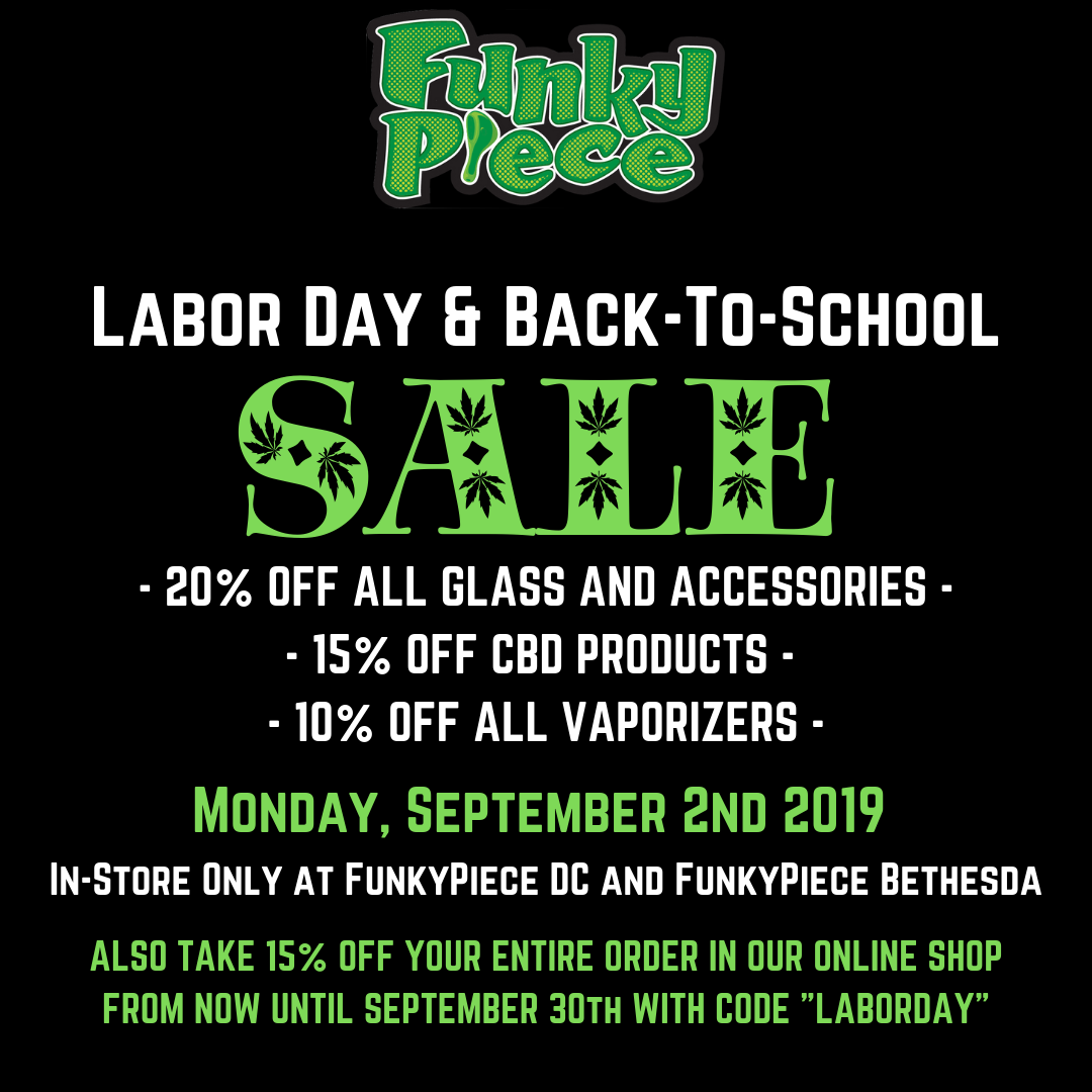 FunkyPiece Laboy Day & Back to School Sale