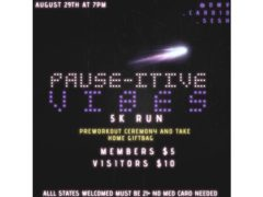 PAUSE-ITIVE VIBES 5K RUN by @dmv_cardio_sesh (DC) August 29 2019