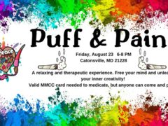 Puff & Paint Hosted by Peace, Love, & Paint (MD) August 23 2019
