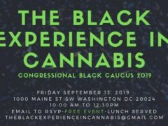The Black Experience in Cannabis at Congressional Black Caucus (DC) September 13 2019