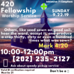 420 Fellowship DC (DC) September 22 2019