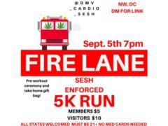 A Cannabis Friendly 5K RUN by @dmv_cardio_sesh (DC) September 5 2019