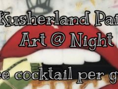 Art At Night-Sip Paint & Puff by Kusherland Events (MD)