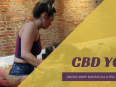 CBD Yoga Workshop by District Hemp Botanicals (DC) September 29 2019