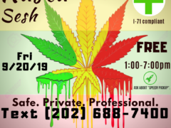 DC 420 Rasta Sesh (DC) September 20 2019