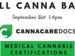 Fall Canna Bash Hosted by Canna Care Docs of Maryland (MD) September 21 2019