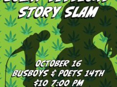 Joint Sessions Story Slam Fundraiser for Street Sense Media Hosted by National Cannabis Festival (DC) October 16 2019