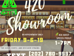 Washington Gasss Company 420 Showroom (DC) September 6 2019