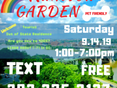 Washington Gasss Company hosts Rainbow Garden DC (DC) September 14 2019