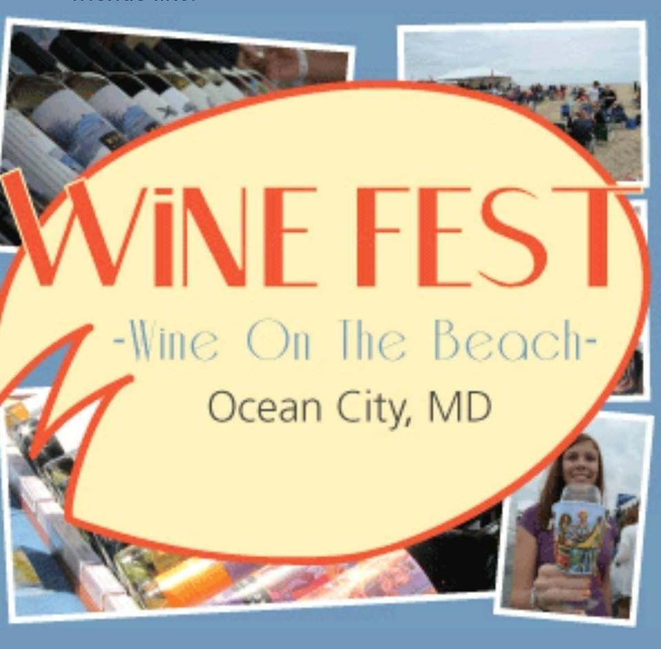 Wine On The Beach Hosted by Saucier Willy (MD) September 27 2019