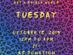 Art & Edible World Tuesday (DC) October 15 2019