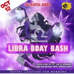 Blissful Budz Libra Bday Bash Hosted by Trichome Honey Concepts (DC) October 12 2019