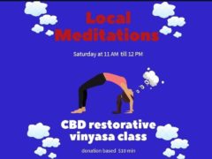 CBD RESTORATIVE YOGA Hosted by Local Meditations (DC) October 5 2019