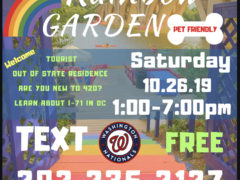 DC 420 Rainbow Garden (DC) October 26 2019