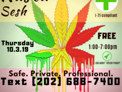 DC 420 Rasta Sesh (DC) October 3 2019