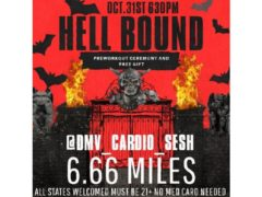 HELL BOUND 6.66 MILE RUN by @dmv_cardio_sesh (DC) October 31 2019