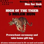 HIGH OF THE TIGER by @dmv_cardio_sesh (DC) October 5 2019