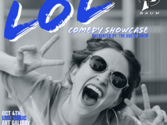 LOL Baum Comedy Showcase (DC) October 4 2019